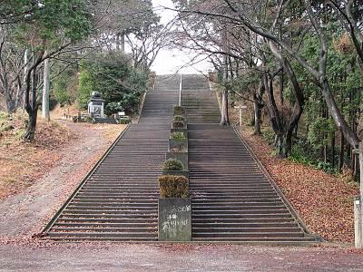 世界無名戦士の墓への階段