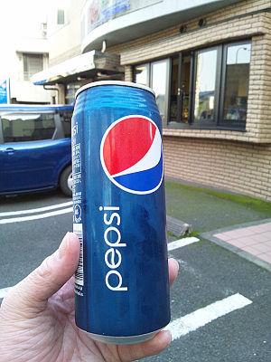 ペプシコーラ500mlが120円