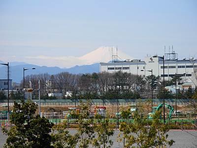プリンスの丘公園からの富士山