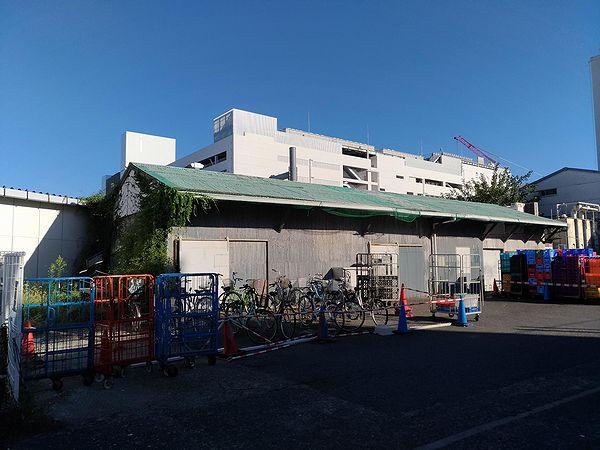 西友所沢駅前店の倉庫?