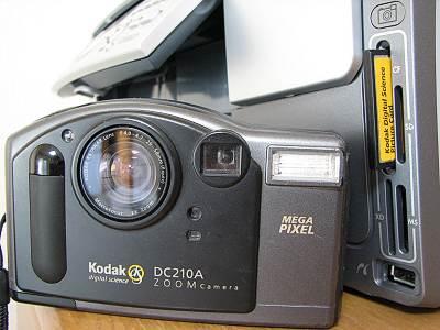 HP Photosmart 3210a メモリカードスロット