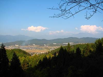 塩田平パノラマ展望台からの展望2