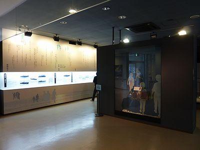 対馬丸記念館の内部