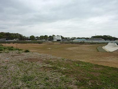 日比田調節池掘削完了?