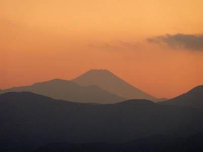 関八州見晴台からの富士山