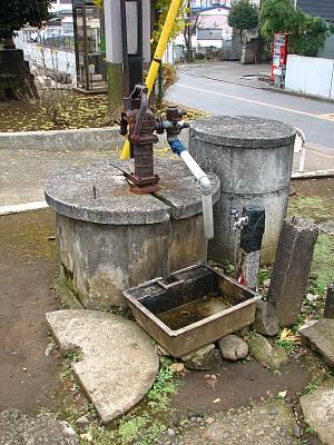 正福寺の中にあった井戸