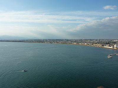 江の島展望灯台からの眺め