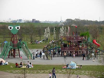 カマキリ公園(荒川彩湖公園)