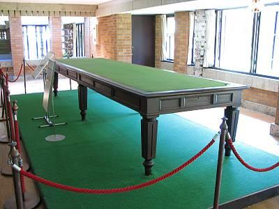 明治村 ポーツマス条約のテーブル(PowerShot S2 ISにて撮影)