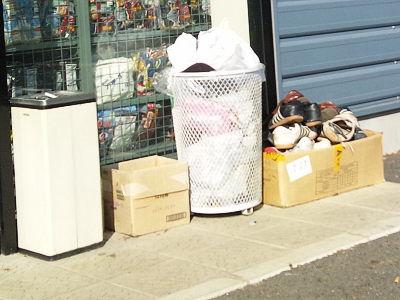 ワークマンのゴミ箱
