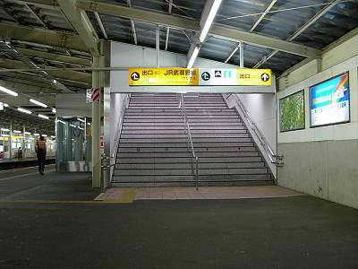 秋津駅前の案内板1