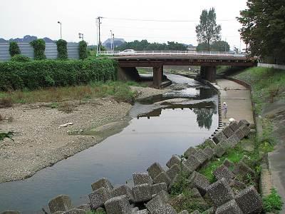 清瀬せせらぎ公園 清瀬橋で合流