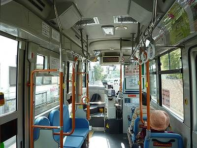 きよバス車内