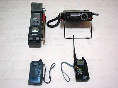 市民無線機と特小トランシーバー