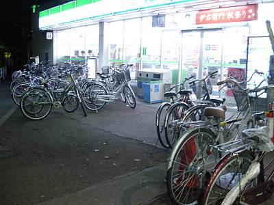 秋津駅北口横のファミリーマート