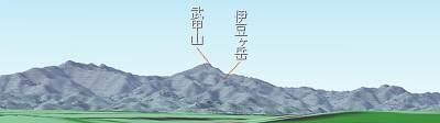 秋津から見える武甲山