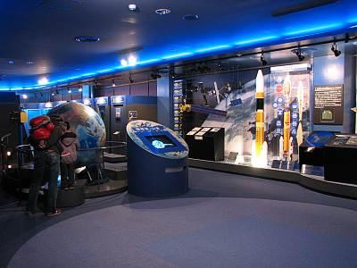 JAXA地球観測センター展示室