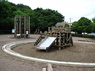 東所沢公園の遊戯 大きい子向け
