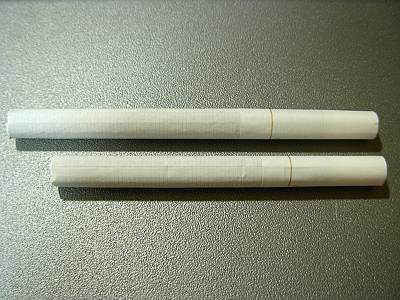 タバコの背比べ