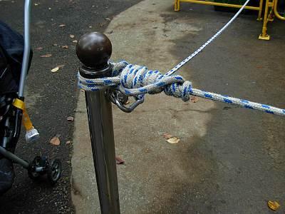 としまえんのロープ