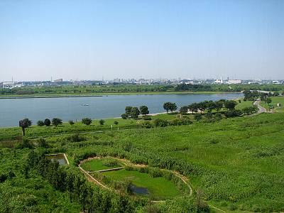 彩湖とミニ彩湖