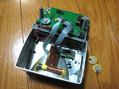 電波時計(CITIZEN PULWAVE LC051-A)の分解