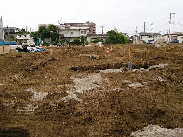 下水管を埋設