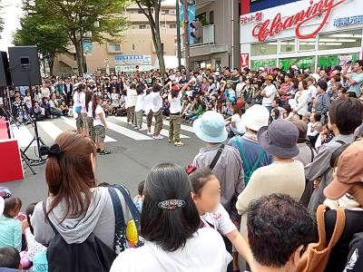 きょせ市民まつり2010ステージ