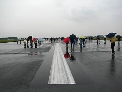 Runway walk 2006 入間基地
