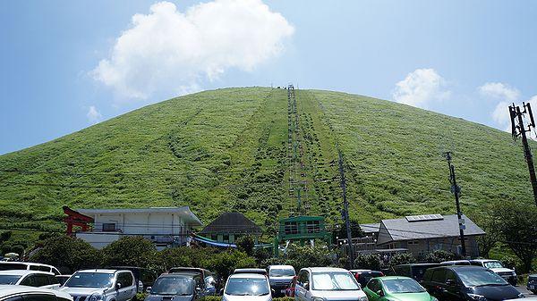 伊豆の大室山