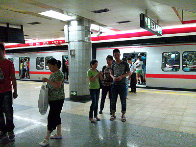 北京地下鉄1号線