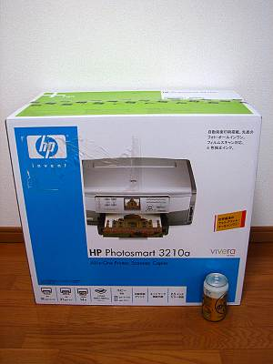 HP Photosmart 3210aの外箱