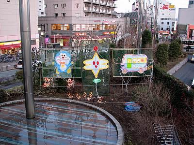 清瀬駅北口のキラキラ
