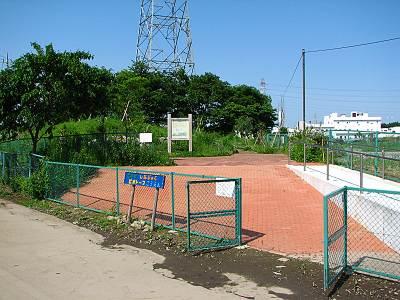 清瀬下宿ビオトープ公園の入口