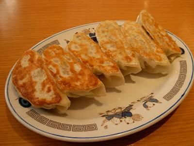 かかしのラーメンの餃子