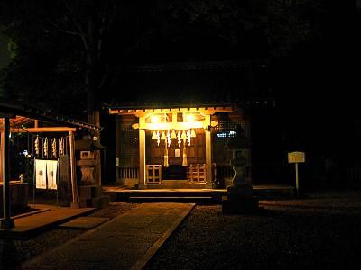 江古田駅前の浅間神社