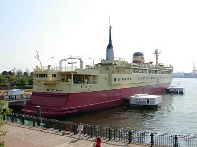 船の科学館の羊蹄丸