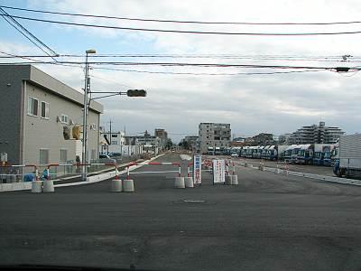 東京狭山線工事中