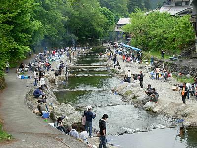 大丹波川国際ます釣場