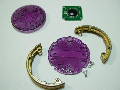 オーメダルの分解