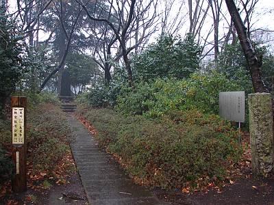 日本で最初の航空犠牲者 墜落場所