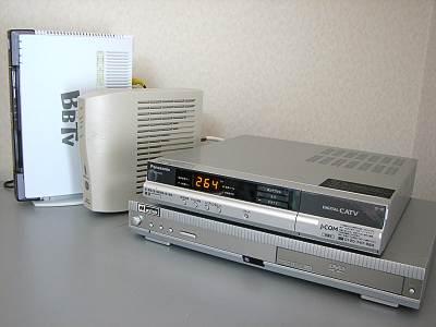 STBの新旧交代(BBTVとJ:COM)