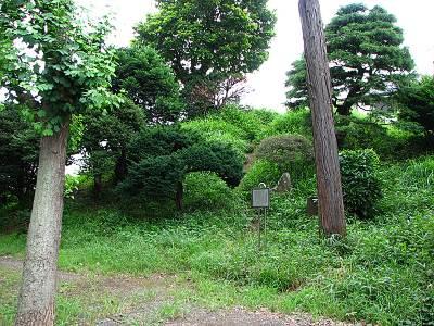 東村山 久米川の富士塚