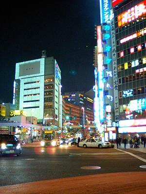 新宿のネオンキラキラその1