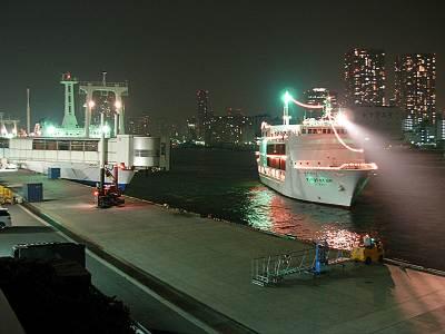 ヴァンテアン号帰港4