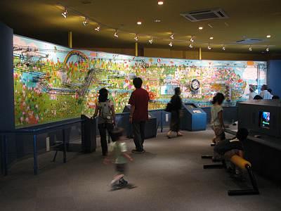 水と緑のふれあい館の展示