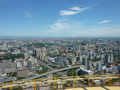 中央電視塔からの展望3