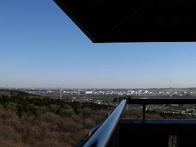 桜山展望台からの景色