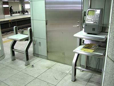 大江戸線都庁前駅ホーム