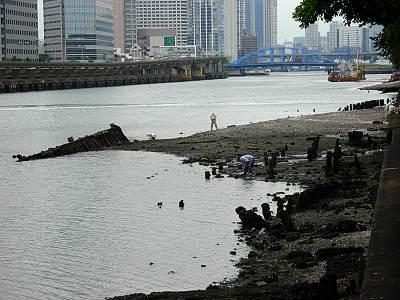 干潮時の京浜運河その1